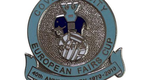 European Fairs Cupcloisonne lapel pins