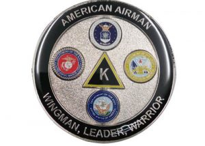 American Airman warriors coins dealers