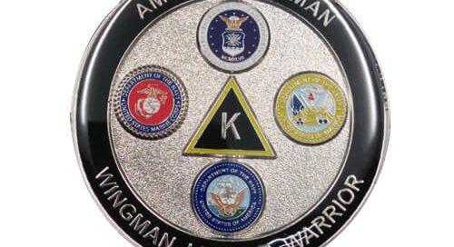 American Airman warriors coins dealers