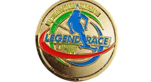US League Race gold coins