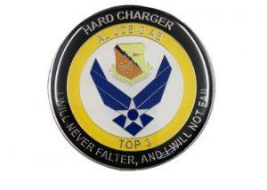 custom merit metal coin badges British coin
