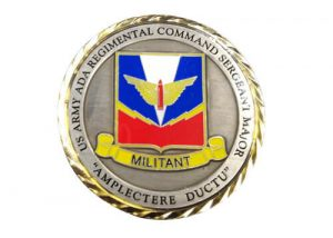 US army militant trading challenge coins