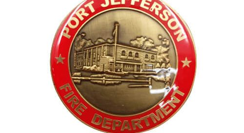 Fire department port Jefferson ferry coin