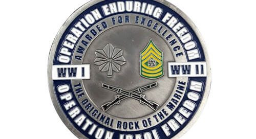 WW II Marine commemorative coins