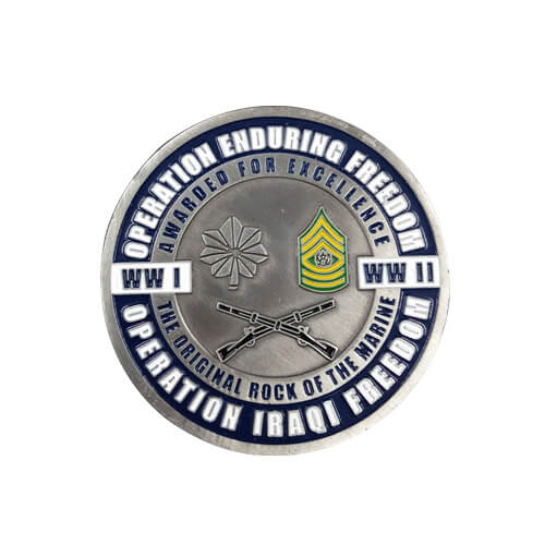 WW II Marine commemorative coins