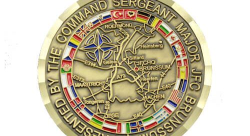 NATO Allied JFC brunssum force coins manufacturer