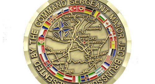NATO Allied JFC brunssum force coins manufacturer