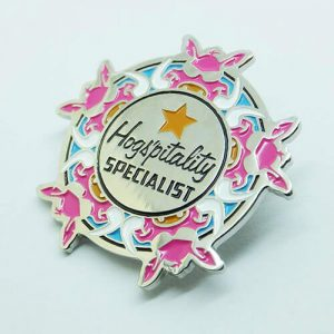 enamel collar pins