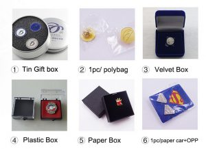 lapel pins package