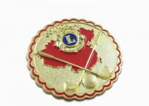 Lacrosse sports lion clubs lapel pins hat pins