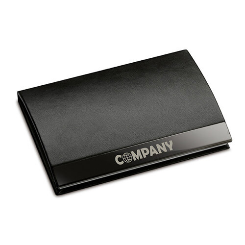 Promote company business card holder wallet