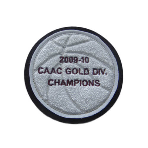 CAAC GOLD DIV CHAMPIONS chenille and emblem patch