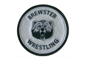 Brewster Wrestling varsity jacket patch