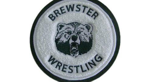 Brewster Wrestling varsity jacket patch
