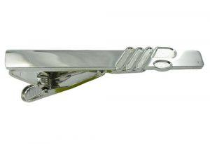 Silver tie clip-perfectcraftsgifts