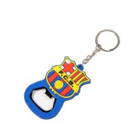 F.C.B PVC coating bottle opener keyring