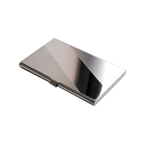 stainless steel metal card case holder