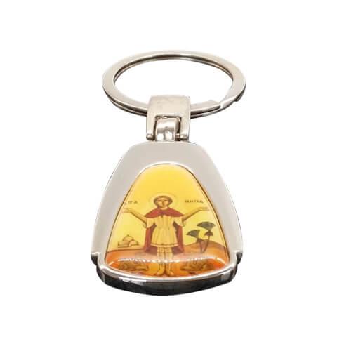 Custom Christian keychains Jesus Christ keyring