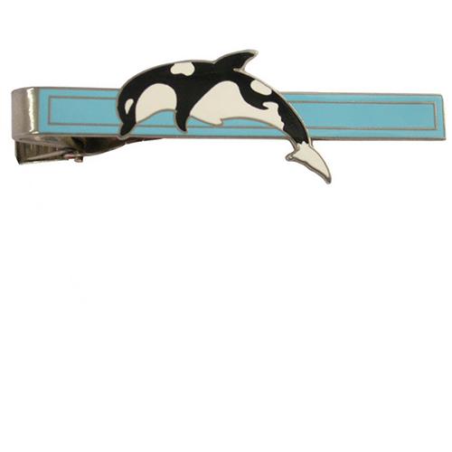 custom dolphin tie clips