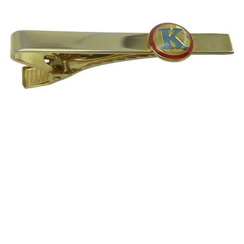Luxury wedding gold tie bar