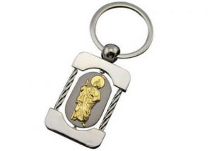 Jesus Dubai travel souvenir gifts key ring