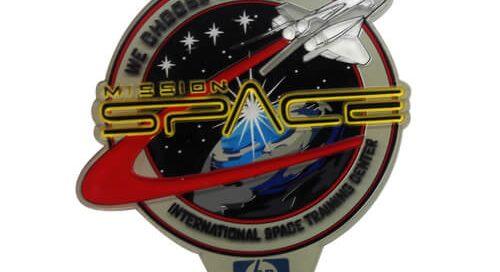 Space Mission transparent PVC patches apparel accessories