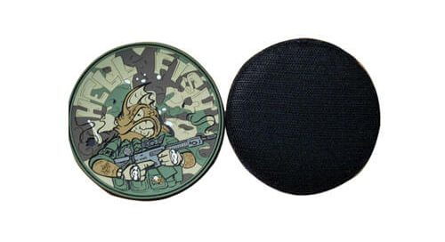 PVC rubber emblems clothing tags