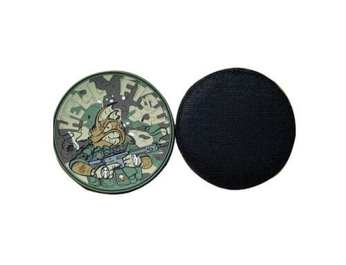 PVC rubber emblems clothing tags
