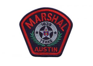 Marshal Texas military embroidery patches
