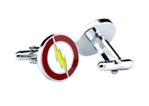 lightning strikes mens cufflink