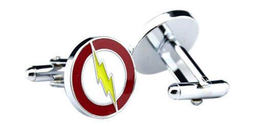 lightning strikes mens cufflink