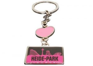 Heide-park promotional gift key chains