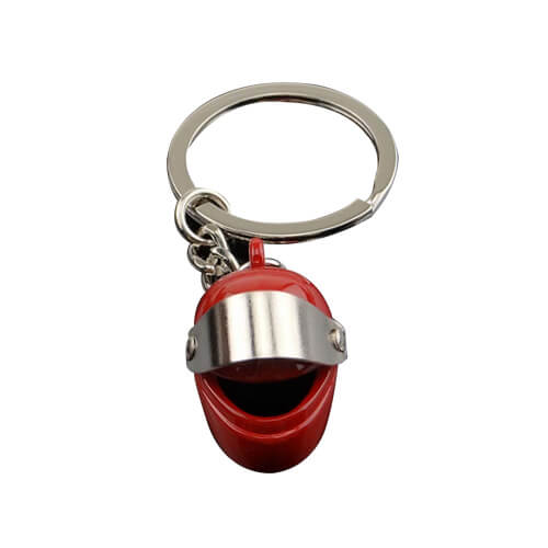 Firefighter safety helmet keychains