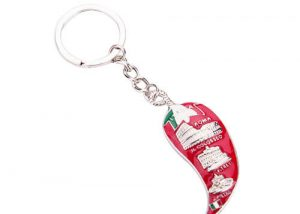 Fanny pepper design keyrings gifts Italy Souvenir