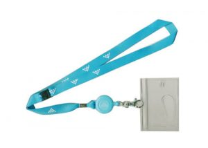 Conference lanyards name card holder