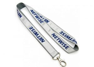 Conference woven lanyard