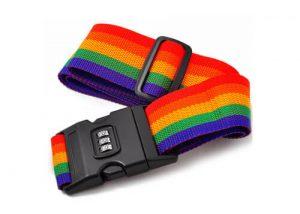 Luggage belts Lock