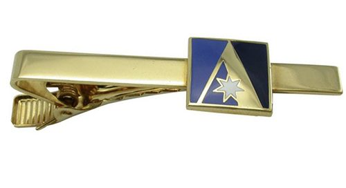 luxury gold tie clip