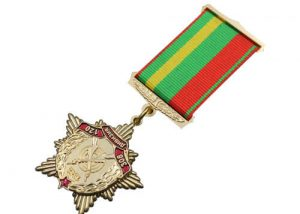 Star medal US army force medallion