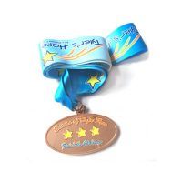 Personalized friendship honor medals ribbon