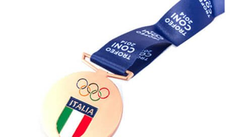 Italian National Olympic TROFEO gold medal