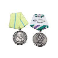 Bronze star bronze medallion ribbons