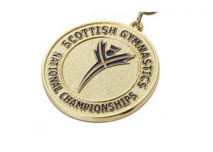 gymnastics championship gold medal