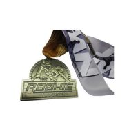 wrestling rookie sports medals ribbon