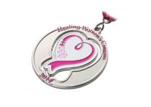 Healing Women's Cancer medal