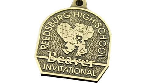 High school award medals