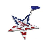 Bronze star medal 10k marathon memorial day