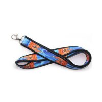 customized neoprene badge holder lanyards