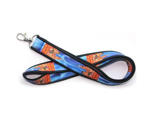 Customized neoprene lanyard