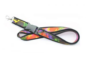 High quality neoprene lanyard